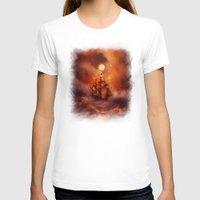 nan lawson T-shirts featuring Perfect storm. by Viviana Gonzalez