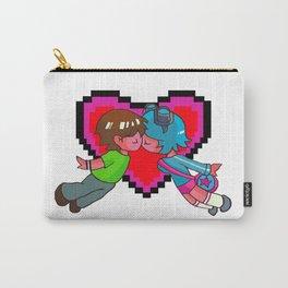 Scott Pilgrim + Ramona Flowers 8-bit Heart Carry-All Pouch
