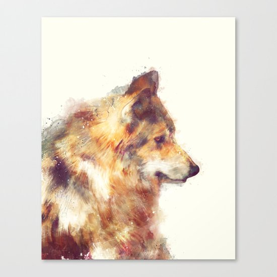 Wolf // True Canvas Print
