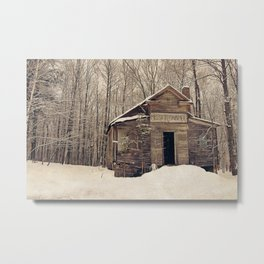 Mission Chapel Metal Print