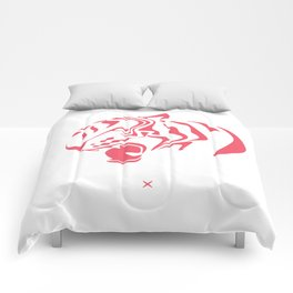 Pink tiger Comforters