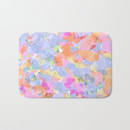 Floral abstract Bath Mat
