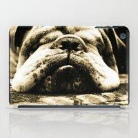 bulldog iPad Cases featuring Bulldog by Urlaub Photography