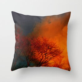 Violent Autumn #2 Throw Pillow