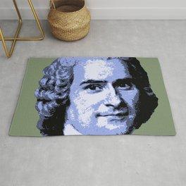 Jean-Jacques Rousseau Rug