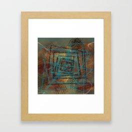 Ordering Chaos #PopArt #AbstractArt Framed Art Print