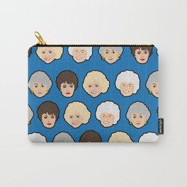 The Golden Girls Blue Pop Art Carry-All Pouch