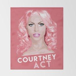 Courtney Act, RuPaul's Drag Race Queen Throw Blanket