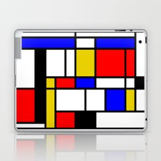 Art work inspired to P. Mondrian (n.1) Laptop & iPad Skin