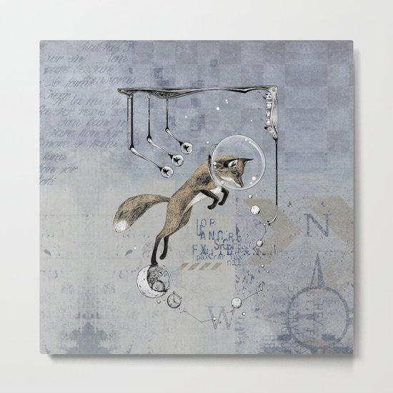 Relativity Fox Trot Metal Print