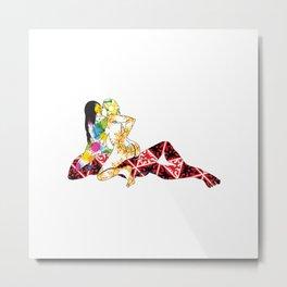 Three Ways - FFM 1 Color 1 Metal Print