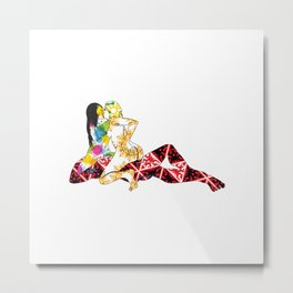 Psych-tri-delic II Metal Print
