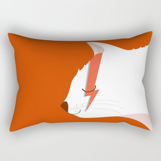 David Meowie Rectangular Pillow