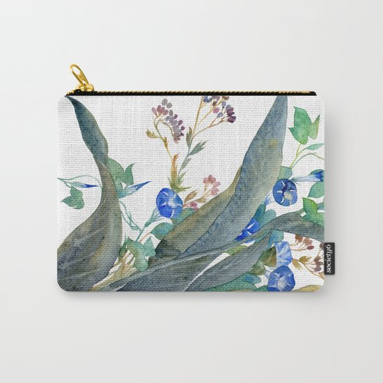 Feng shui flowers Carry-All Pouch