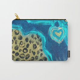 Florida Teal Love Carry-All Pouch