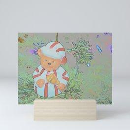 Christmas Bear Mini Art Print