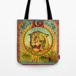 Tiger Fez Label Tote Bag