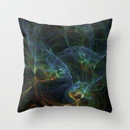 fractal Bunt Throw Pillow