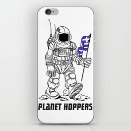 planet hoppers iPhone Skin