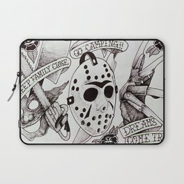 Horror Flash Laptop Sleeve