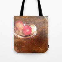 thanksgiving Tote Bags featuring Thanksgiving by Bonnie M. Cummings ~ BeauCollage