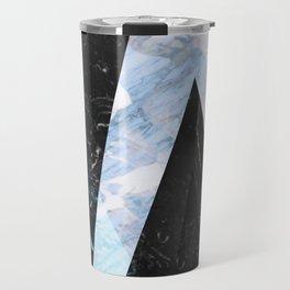 Marble stone ( frozen ) Travel Mug