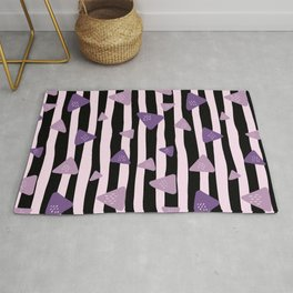 Triangle Stripes Rug