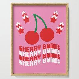 Cherry Bomb Serving Tray