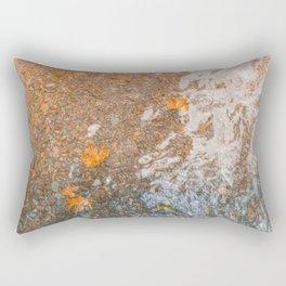 Water and foil Rectangular Pillow