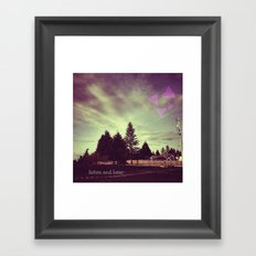 Listen and Hear Framed Art Print
