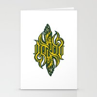 starcraft Stationery Cards featuring Angel 3K ambigram by LoneLeon