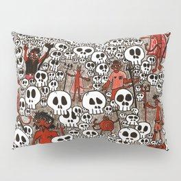 Calaveras y Diablitos Pillow Sham
