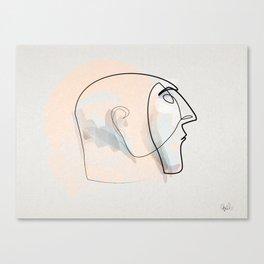 Linea della notte Canvas Print