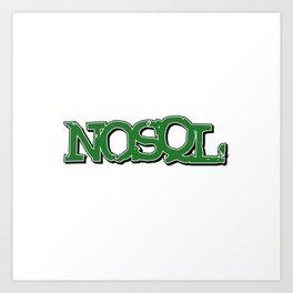 NOSQL Art Print