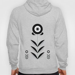 Retro Nordic Black & White Hoody