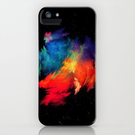 Rainbow colors iPhone Case