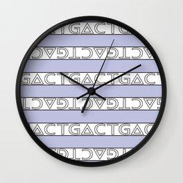 G∆CT Wall Clock