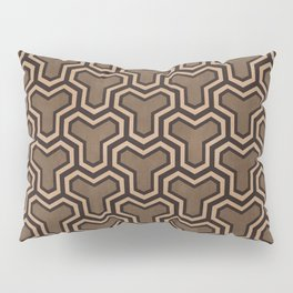 Brown Ys (70's Style) Pillow Sham