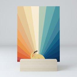 Sunshine will be ready in a minute Mini Art Print