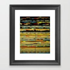 Jazz Head: Straight, No Chaser  Framed Art Print