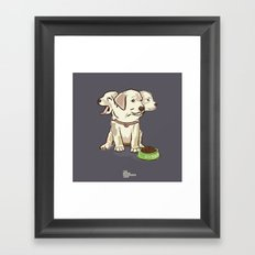Cerberus Puppy Framed Art Print