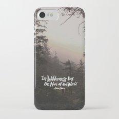 Wilderness Hope x John Muir Slim Case iPhone 7