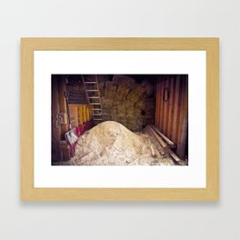 Barn Memory Framed Art Print