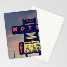 Hi Line Motel Stationery Cards