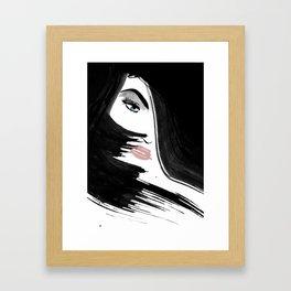 FaceEye Framed Art Print