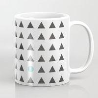 minimalism Mugs featuring Minimalism 1 by Mareike Böhmer