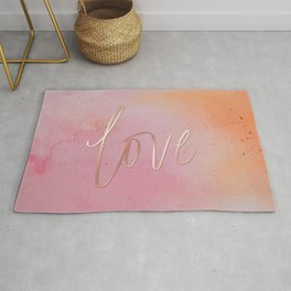 Love in the Clouds - Pink Rug