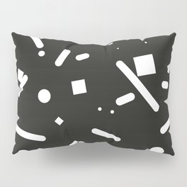 Clashing black Pillow Sham