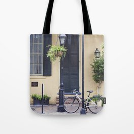 New Orleans Andrew Jackson Bicycle Tote Bag
