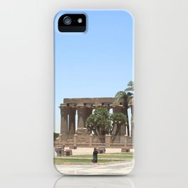 Temple of Luxor, no. 18 iPhone Case